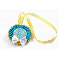 Медали именные  индивидуальные на выпускной
